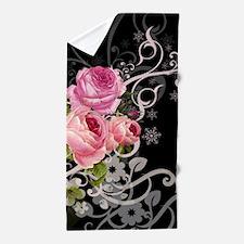 Rose Elegance Beach Towel