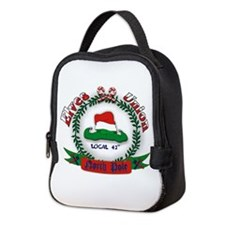 Elves Union Christmas Neoprene Lunch Bag