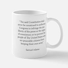 Massachusetts Convention of 1788 Mugs