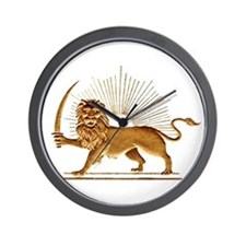 Shir o Khorshid Wall Clock