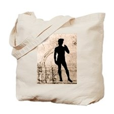 David Shadow Sketch Tote Bag