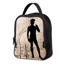 David Shadow Sketch Neoprene Lunch Bag