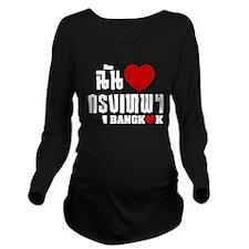 I Heart (Love) Bangkok (Krung Thep) Long Sleeve Ma