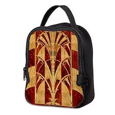 Harvest Moon's Art Deco Panel Neoprene Lunch Bag