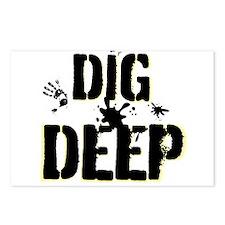 Dig Deep Postcards (Package of 8)