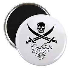 "Captain's Lady 2.25"" Magnet (100 pack)"