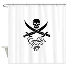Captain's Lady Shower Curtain