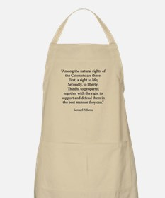 The Rights of the Colonists Apron
