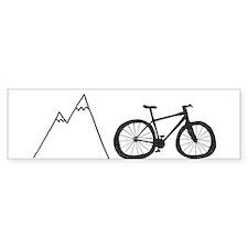 Mountain Bike! Bumper Bumper Sticker
