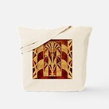 Harvest Moon's Art Deco Panel Tote Bag