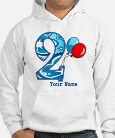 2nd Birthday Personalized Hoodie