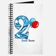 2nd Birthday Personalized Journal