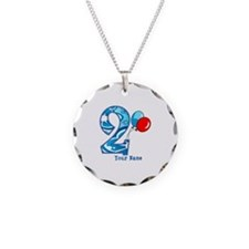 2nd Birthday Personalized Necklace