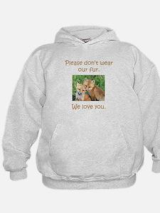 Fox No Fur Hoodie