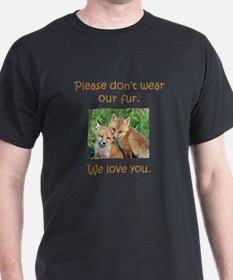 Fox No Fur T-Shirt