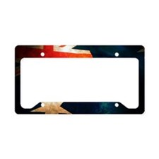 Australian Aussie Flag License Plate Holder