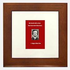 Unique Allen quote Framed Tile