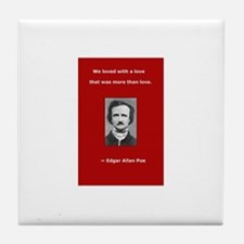 Funny Allen quote Tile Coaster