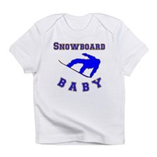 Snowboard Baby Infant T-Shirt
