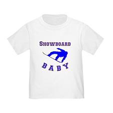 Snowboard Baby T-Shirt