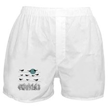 Birds On A Wire 3 Boxer Shorts