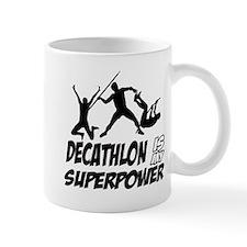 Super power decathlon designs Mug
