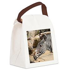 Zebra003 Canvas Lunch Bag