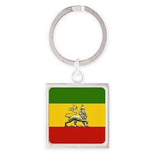 Rasta Keychains reggae colors ethiopian lion