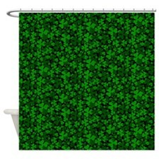 Shamrock Clover Shower Curtain