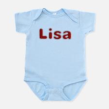 Lisa Santa Fur Body Suit