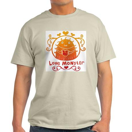 Love Monster Ash Grey T-Shirt
