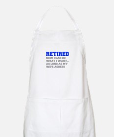 retired-now-I-can-do-FRESH-BLUE-GRAY Apron