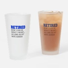 retired-now-I-can-do-FRESH-BLUE-GRAY Drinking Glas
