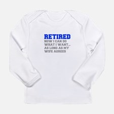 retired-now-I-can-do-FRESH-BLUE-GRAY Long Sleeve T