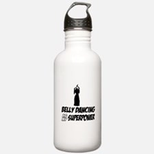Super power Running designs Water Bottle