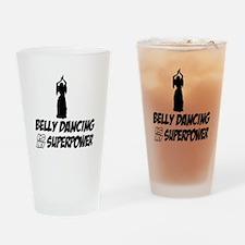 Super power Running designs Drinking Glass