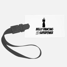 Super power Running designs Luggage Tag