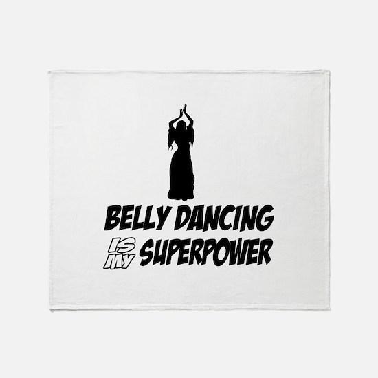 Super power Running designs Throw Blanket