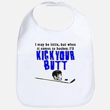 Kick Your Butt At Hockey Bib
