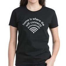 The Wifi Connects Automatically At Home Tee