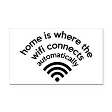 The Wifi Connects Automatically At Home Rectangle