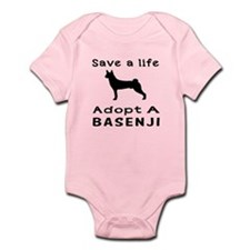 Adopt A Basenji Dog Infant Bodysuit