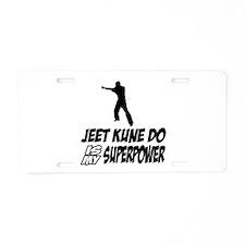 Super power Jeet kune do designs Aluminum License