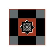 "AGADIR Square Sticker 3"" x 3"""