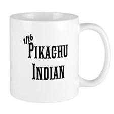 1/16 Pikachu Indian Mugs