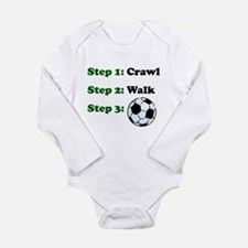 Crawl Walk Soccer Body Suit
