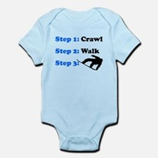 Crawl Walk Snowboard Body Suit