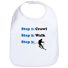 Crawl Walk Skiing Bib