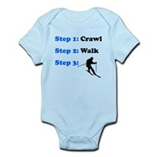 Crawl Walk Skiing Body Suit