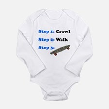 Crawl Walk Skateboarding Body Suit
